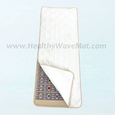 Thick Cotton top padded waterproof cover for mat