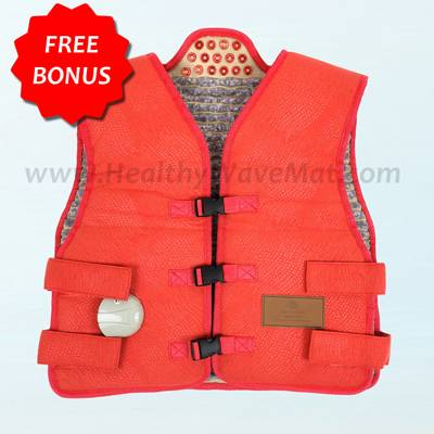 Amethyst Far Infrared Heat & Photon Vest Extra Large