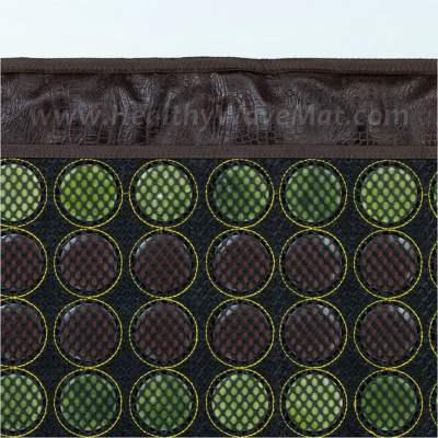 "Jade & Tourmaline Far Infrared Heat Mesh Mat - Light 72""x24"""