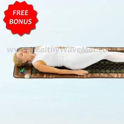 "Jade & Tourmaline Far Infrared Heat Mesh Mat 72""x24"" (full size)"